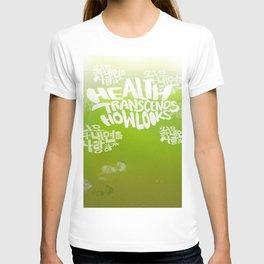 Health Transcends – Lime T-shirt