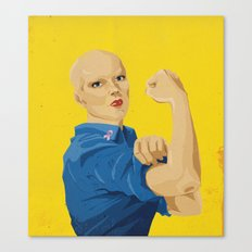 The Fight Against Breast Cancer Canvas Print
