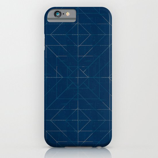 Geometric Lines iPhone & iPod Case