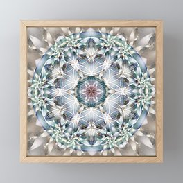 Flower of Life Mandalas 1 Framed Mini Art Print