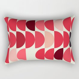 Red Bowls Rectangular Pillow