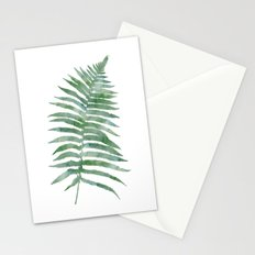 Tropical Olive Green Botanical Fern Stationery Cards