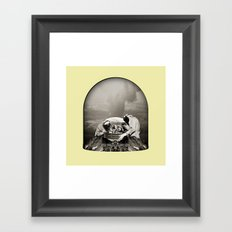 Something is happening which is not happening at all pt1 Framed Art Print