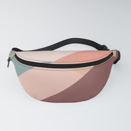 Geometric Mountains 01 Fanny Pack