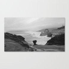 Dark Coastal Days Canvas Print