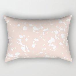 Terrazzo Taupe Rectangular Pillow