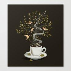 A Cup of Dreams Canvas Print