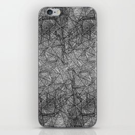Pattern psychedelia iPhone Skin