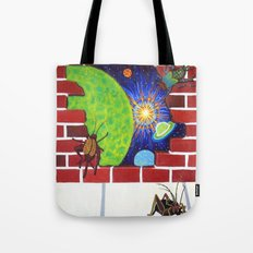 Crickets in the Walls Tote Bag
