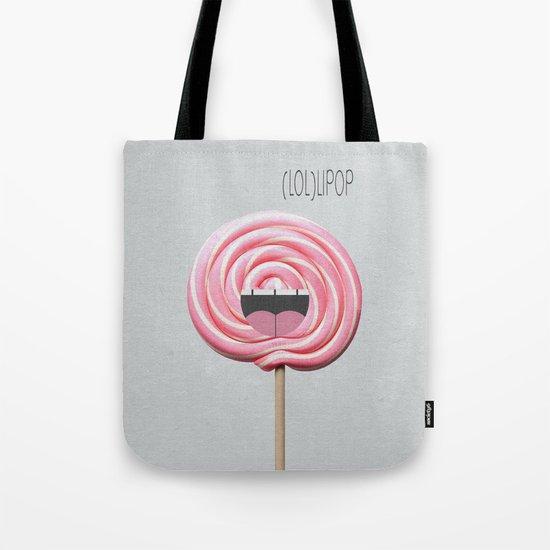 (LOL)LIPOP Tote Bag