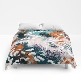 Clara Abstract Comforters