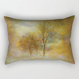 Lost in Fog Rectangular Pillow