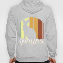Vintage Sphynx Cat product, Cat Graphic Tee, Cat Owner print Hoody