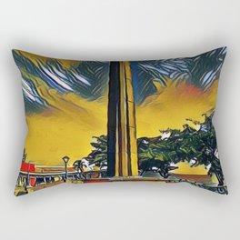 obelisk park Rectangular Pillow