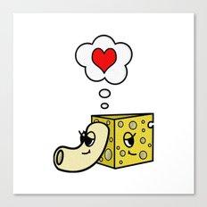 Mac -N- Cheese Love Canvas Print