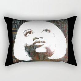 Blonde Diva Rectangular Pillow