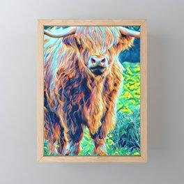 Water-color Trendy Animals Art Print Framed Mini Art Print