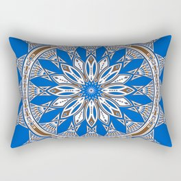 Tribal Gathering Rectangular Pillow