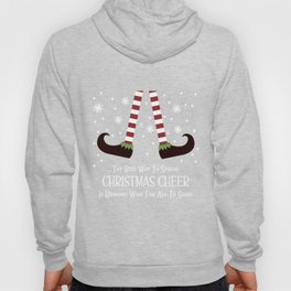 Christmas Cheer Sharing Wine Hoody