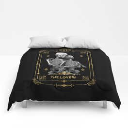 The Lovers VI Tarot Card Comforters