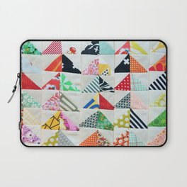 Flying Geese Quilt Pattern Laptop Sleeve