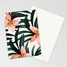 Tiger Lily Tropical Stationery Cards