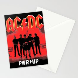 AC/DC Pwr Up Stationery Cards