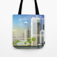 Future City Tote Bag