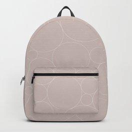 Circular Collage - Neutral Blush Backpack
