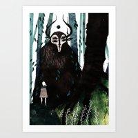 hunter Art Prints featuring HUNTER by tarmasz
