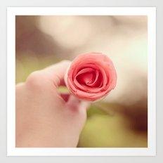 Sweet Rose Art Print