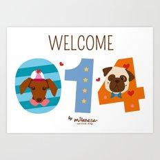 Welcome 014 Art Print