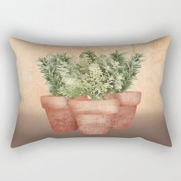 Rosemary and Thyme Rectangular Pillow
