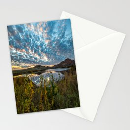 Wichitas Wonder - Fall Colors and Big Sky in Oklahoma Stationery Cards