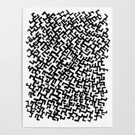 Not a Maze Poster