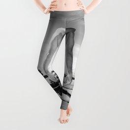 Bare Butt Black Pool Leggings