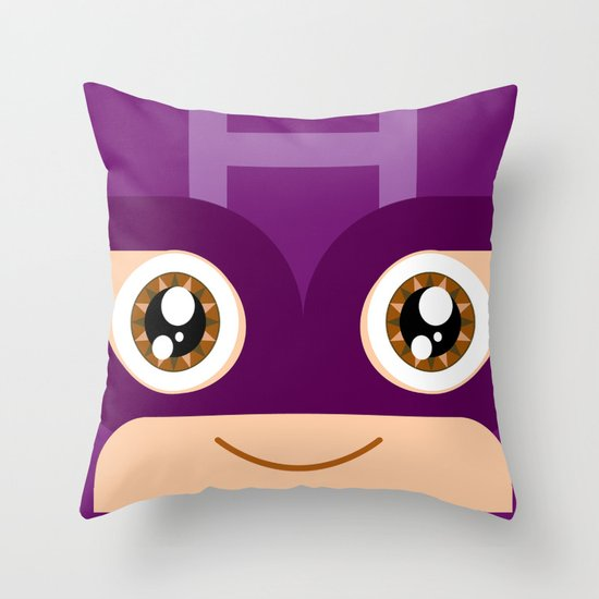 Adorable Hawkeye Throw Pillow