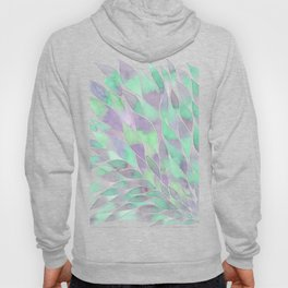 Feathers painting watercolors Hoody