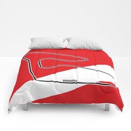 Spielberg Racetrack Comforters