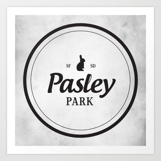 Pasley Park Art Print