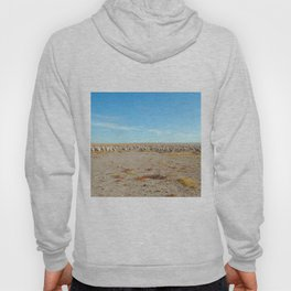 Inner Mongolia.  A flock of sheep with blue cloudy sky Hoody