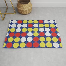 Game Night - Connect Four Rug