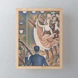Le Chahut by Georges Seurat, 1889 Framed Mini Art Print