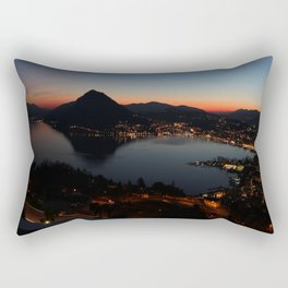 A view of Lugano Rectangular Pillow
