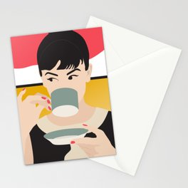 Audrey Tea Time Stationery Cards