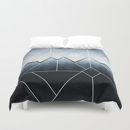 Fading North Duvet Cover