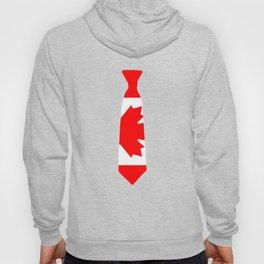 Canada Patriotic Tie Tee Shirt Hoody
