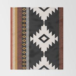 Pueblo in Sienna Throw Blanket