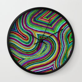 Trippy Labyrinth Wall Clock