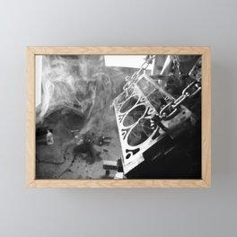 The man cave Framed Mini Art Print